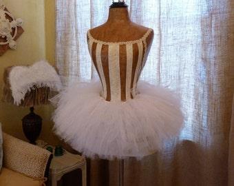 Dress Form Designer Fashion Mannequin Ballerina Ballet French Corset Free Ship & Layaway