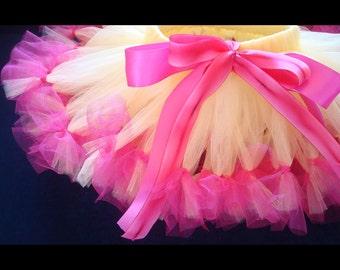 Birthday Tutu Skirt   Lemonade Party   Baby Girl Tutus