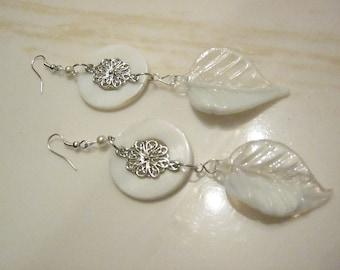 Half n Half - Dangle Earrings