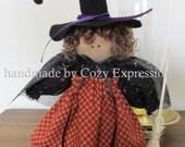Folk Halloween Witch