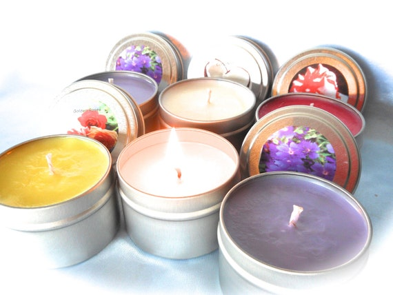 U Pick Fragrance-Natural Soy -Travel Tin-4 oz