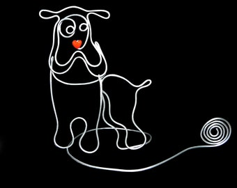 A Bulldog  Picture ,Card Holder