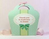 Kawaii Sweet Love Mint Giftbag Cute Valentine's Day Easter Love Birthday Party Treat basket Sweet Bag Packaging Editable Printable PDF
