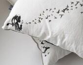 The Birds cushion