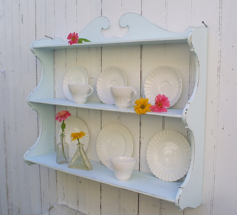 Shabby Chic Kitchen Shelves: Sold To Liz........Shelf Shabby Chic Furniture