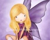 Children Wall Art. Baby nursery art prints. Angel fairy prints for children art. kids art
