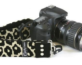 Luxe Leopard SLR Camera Strap