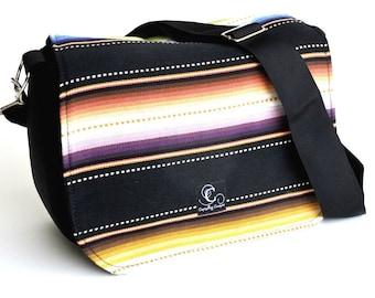 Navajo Black Camera Bag
