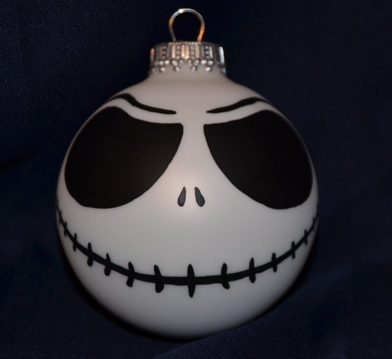 Jack Skellington Christmas Ornament: Jack Skellington Nightmare Before Christmas Ornament Hand