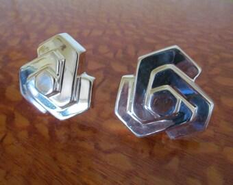 Silver Zina Earrings Modernist