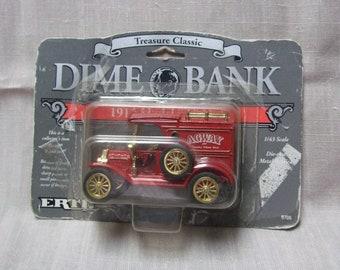 Ertl Treasure Classic Dime Bank Agway 1913 Model T