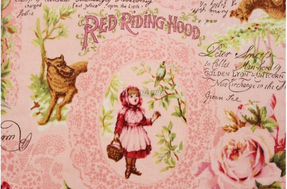 Red Riding Hood - Pink by Lecien - Printed in Japan