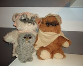 Vintage Star Wars Ewok Family 1983