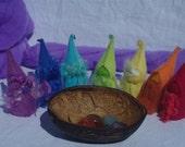 Rainbow Crystal Chakra Gnomes