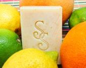 Organic Citrus Goats Milk Soap