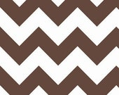 Chevron in Brown LARGE by Riley Blake Designs 1/2 yard total