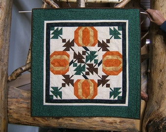 Harvesting Pumpkins Wall Hanging or Table Runner (Item #75)