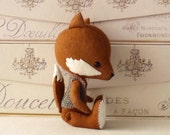 Fenwick the Fox pdf Pattern - Instant Download