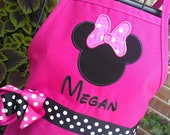Minnie with Bow Personalized Apron