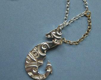 Caught Sea-Creature Necklace