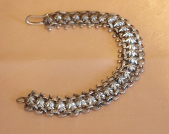 1960s Silvertone Bracelet