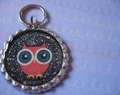 Big Eyed Owl Pet ID Tag - FREE Ship to US