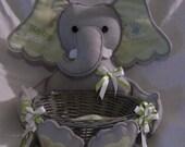 Elephant Basket