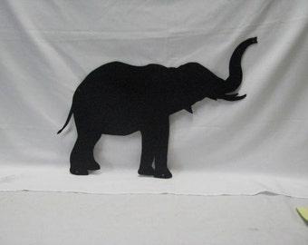 Elephant 017 Metal Animal Wall Yard Lawn Art Silhouette