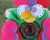 custom large PARAKEET Lens Pet for your camera