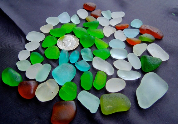 Beach Glass or Sea Glass of Hawaii SALE  AQUA Lime HEART 20 dollars in my Etsy shop, SeaGlassFromHawaii