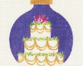 Wedding Cake Needlepoint Ornament - Jody Designs  B106