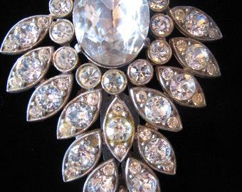 Vintage Art Deco Dress Clip c1940
