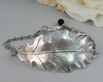 Silver Leaf Bracelet,Leaf Bracelet,Woodland Bracelet,Tree Bracelet,Leaf Jewelry,Leaf in Handmade,Silver Leaf,Bracelet,leaf Valleygirldesigns