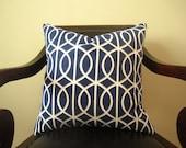 Optical Fence Print Pillow