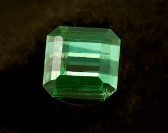 Tourmaline Green 5.5mm square 1.34 carats