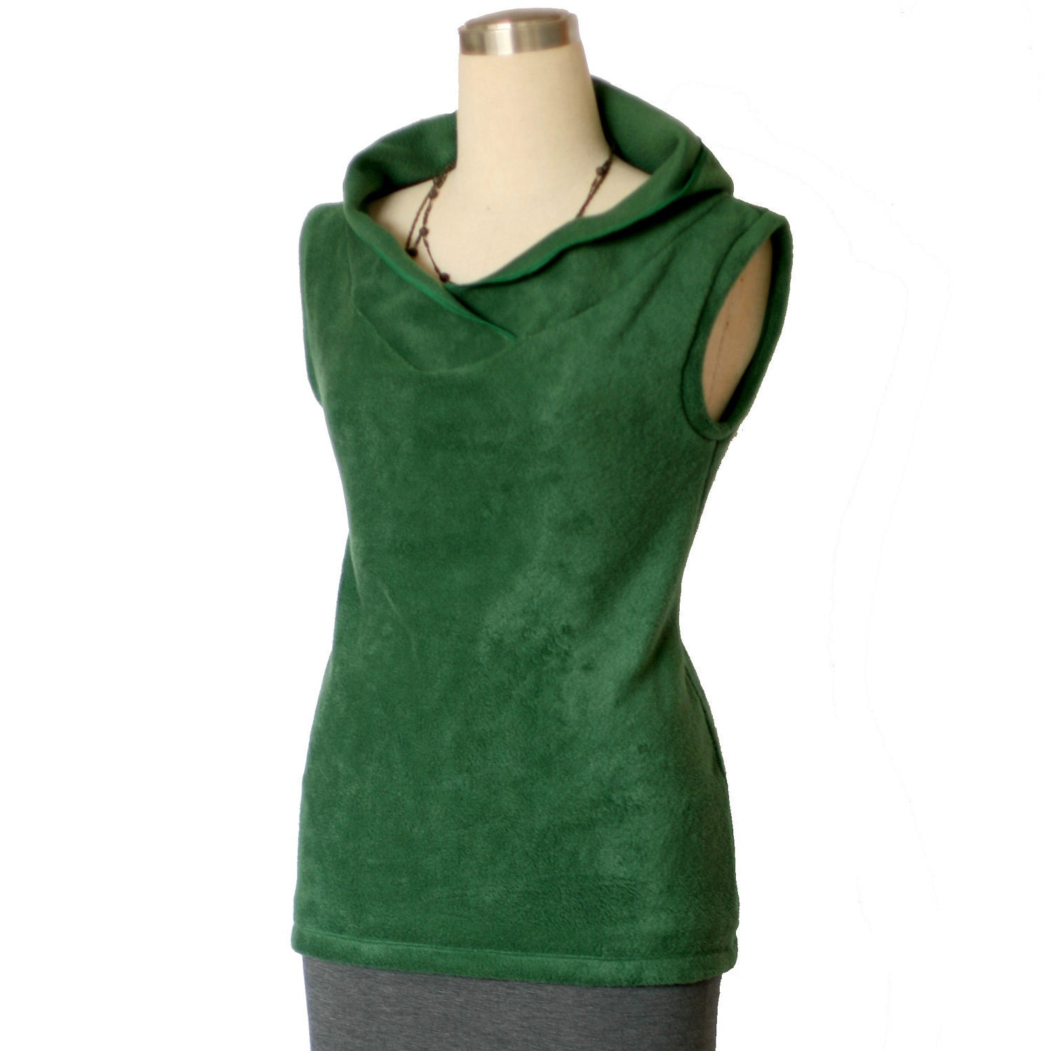 Fleece Hoodie Fleece sweater Fleece sweater vest Long vest