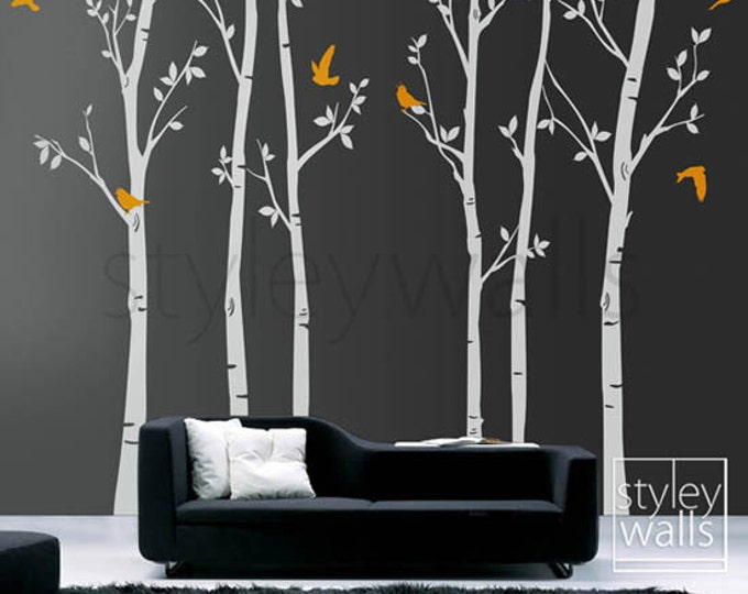 Wall Art Design Etsy Coupon Code : Off coupon on tree wall decals winter trees decal