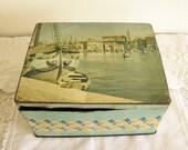Vintage Nautical Tin  Rustic Nautical Inspired Wedding Decor