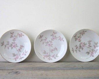 Cherry Blossom China Bowls Set of Three