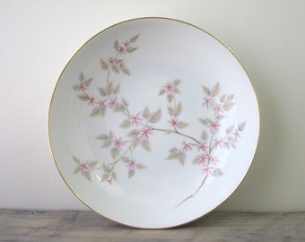 Cherry Blossom China Serving Bowl