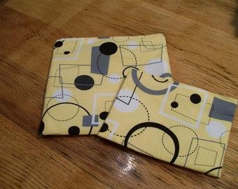Reusable Snack Sandwich Bag Set
