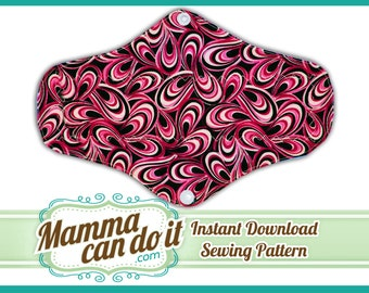 Cloth Feminine Pads Sewing Pattern-INSTANT DOWNLOAD