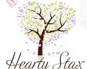 Premade Logo Design - Logo Design, hearts logo design, butterfly logo design, watermark, photography logo design, tree logo design
