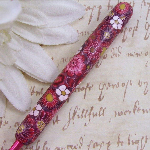 Susan Bates Polymer Clay Covered Crochet Hook, Size I 9/ 5.50mm