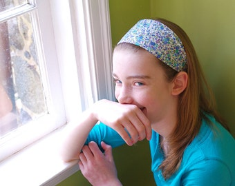 Single Wide Headband: Any Pattern-  Choose One from 42 Patterns- Ready to Ship- Women and Girls Hair Accessory