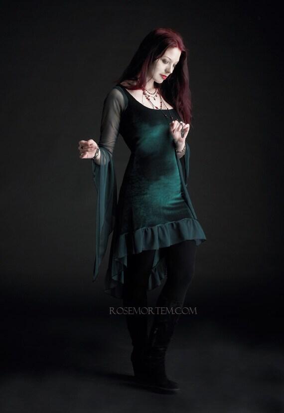 Nixie fairy tale romantic wedding dress handmade to by