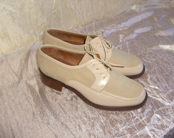 Vintage 1980s Coach Ladies Oxford Shoes Size 8M Never Worn Free Shipping ON SALE