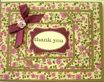 Clearance Handmade Greeting Card