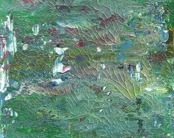 Garden of Peace Fine Art Original Abstract Painting