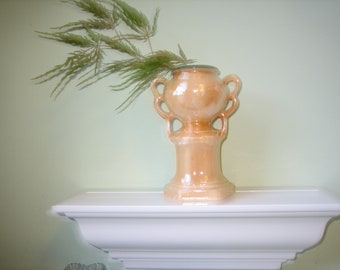 Vintage Vase-Czechoslovakian Lusterware